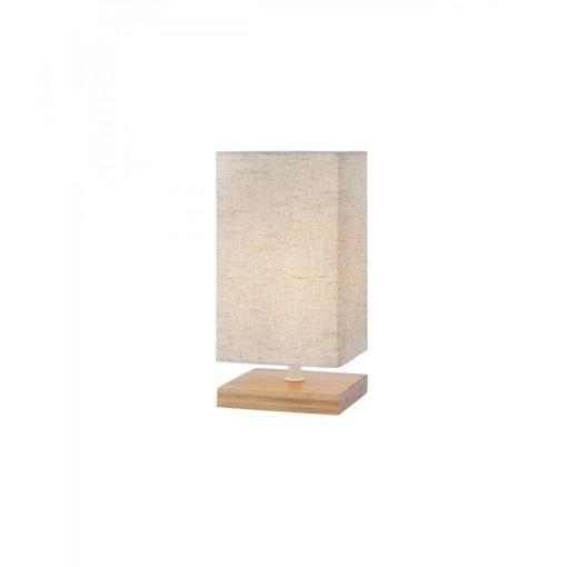 FOUR modern éjjeli asztali lámpa fa talppal