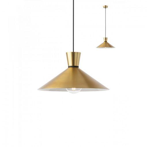 KIMONO modern, matt arany konyhai függő lámpa