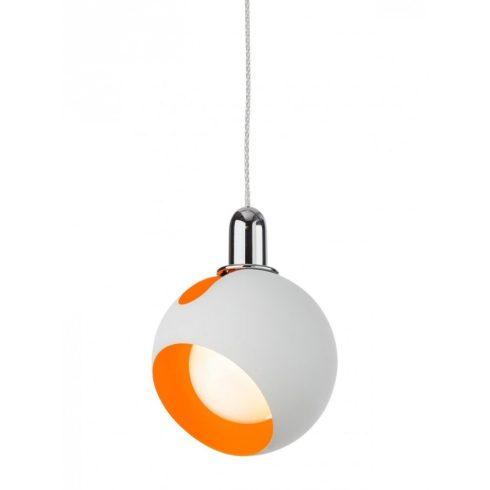 COSMO csillár-függeszték, fehér-narancs, 10966
