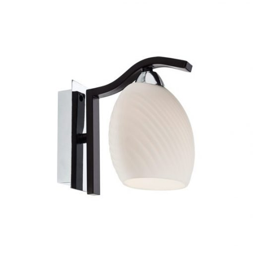 HELEN fali lámpa, króm wenge, 10988