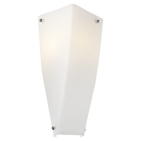 SUEDE fali lámpa, matt króm, 10530