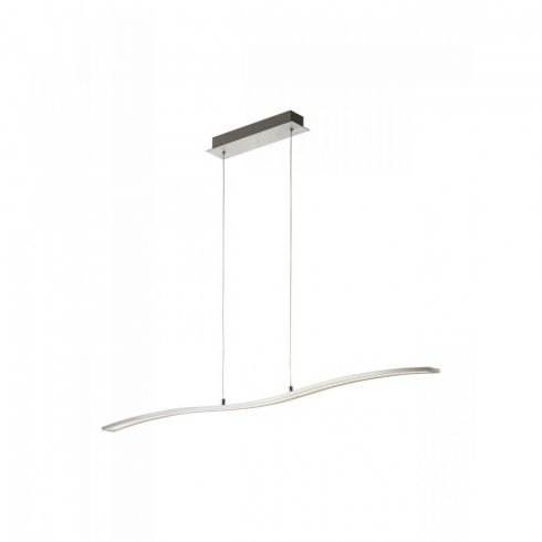 ONDA LED függő lámpa, alumínium/króm, 11036