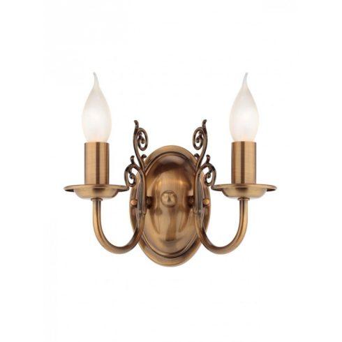 JOSEPHINE fali lámpa, antik réz, 11171