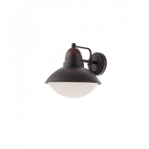 DANUBIA kültéri fali lámpa, rozsda színű