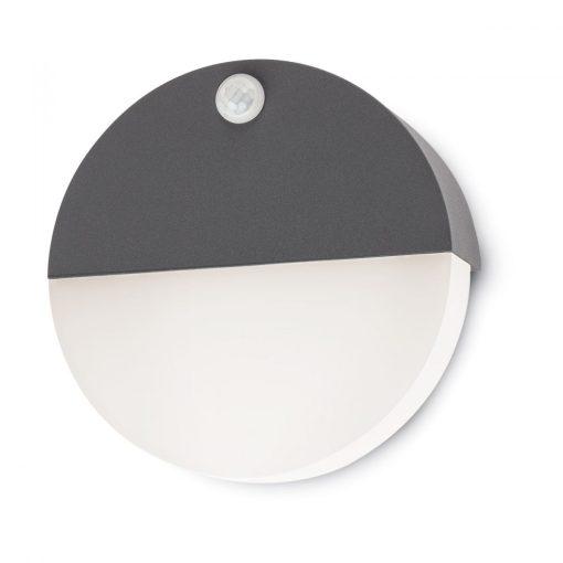 Face kültéri LED fali lámpa, antracit 10129