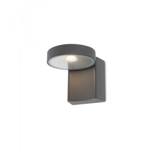 BIRKEN, LED kültéri fali lámpa sötétszürke színben