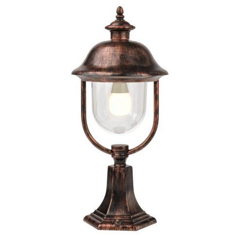 Verona kültéri álló lámpa, fekete/antik bronz 10320