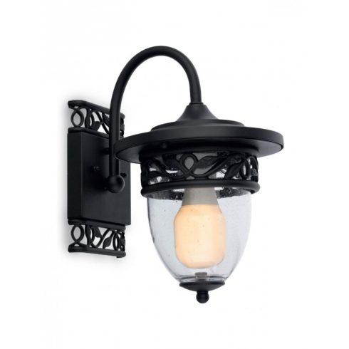 Basel kültéri fali lámpa, matt fekete 10346