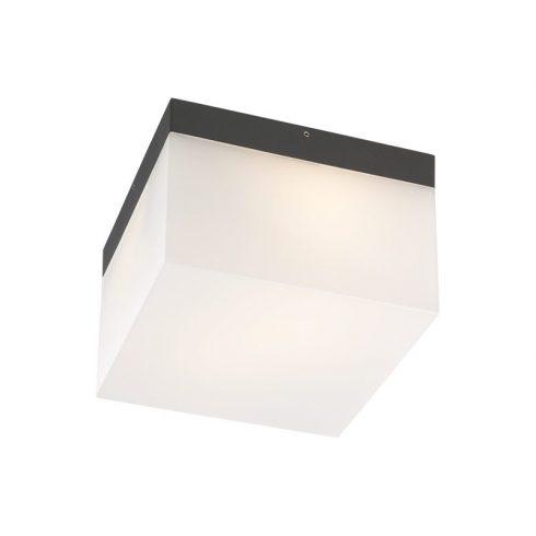 Cube kültéri LED mennyezeti lámpa, sötétszűrke 10078
