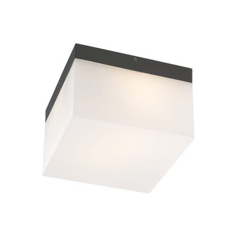 Cube kültéri LED mennyezeti lámpa, sötétszűrke 10080