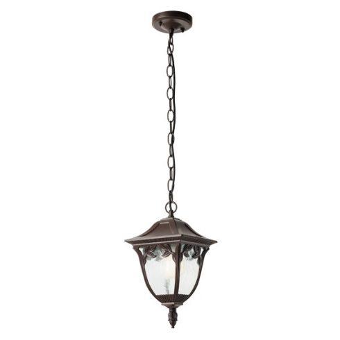 Cadiz kültéri függő lámpa, antik barna 10369