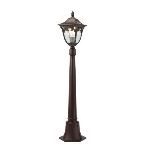 Cadiz kültéri álló lámpa, antik barna 10366