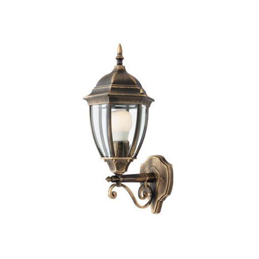 Sevilla kültéri fali lámpa, fekete/antik bronz 10454