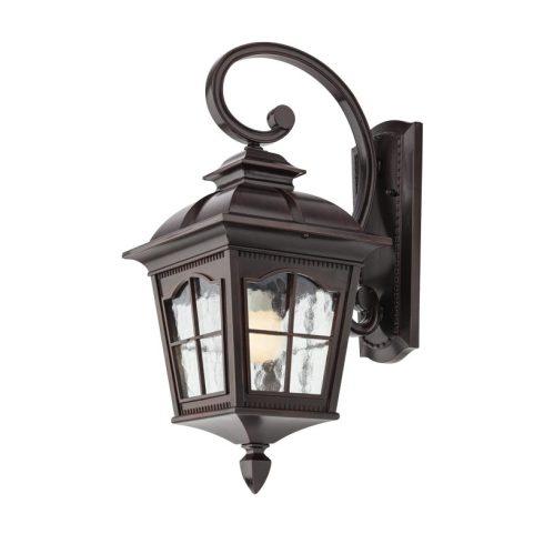 York kültéri fali lámpa, matt fekete 10326