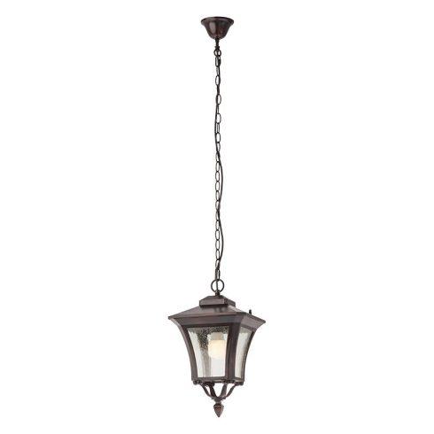 Dublin kültéri függő lámpa, sötétbarna 10098