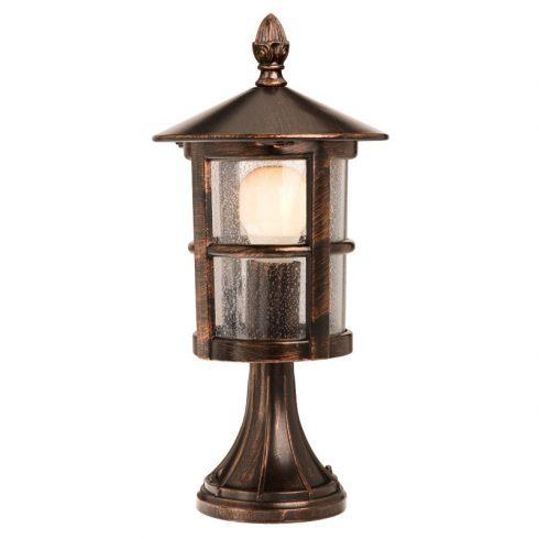 Bari kültéri álló lámpa, fekete rozsdapatina 10344