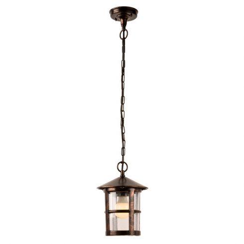 Bari kültéri függő lámpa, fekete rozsdapatina 10345