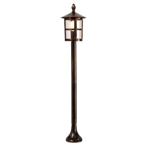 Bari kültéri álló lámpa, fekete rozsdapatina 10343