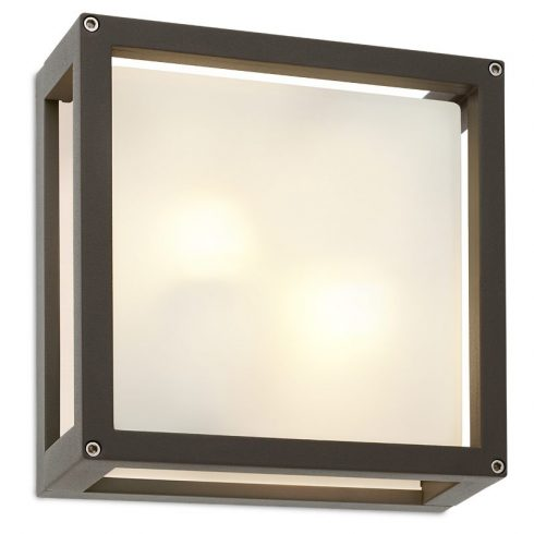 Brick kültéri mennyezeti lámpa, sötétszűrke 10054