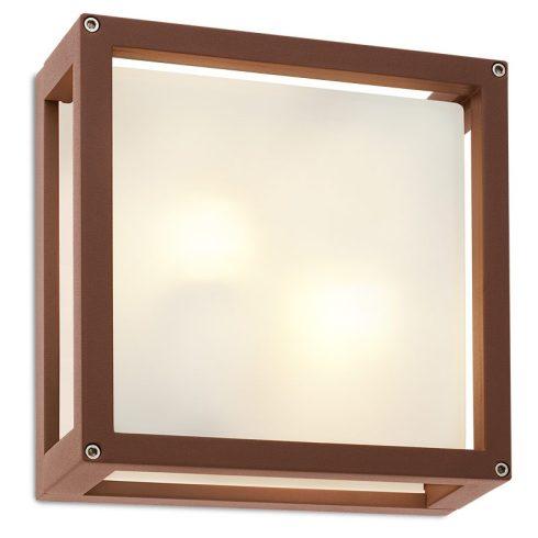 Brick kültéri mennyezeti lámpa, rozsdabarna 10056