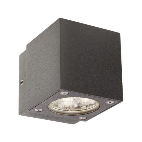 Minibox kültéri LED fali lámpa, sötétszűrke 10182