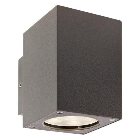 Box kültéri LED fali lámpa, sötétszűrke 10044