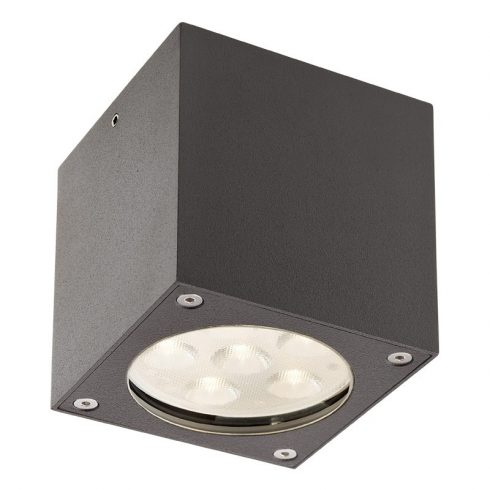 Box kültéri LED mennyezeti lámpa, sötétszűrke 10046
