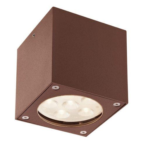 Box kültéri LED mennyezeti lámpa, rozsda 10049