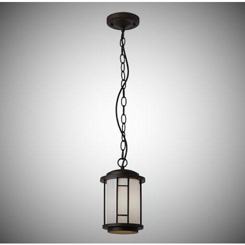 Bristol kültéri függő lámpa, antik barna 10364