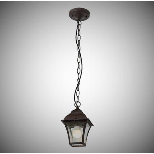 Avignon kültéri függő lámpa, sötétbarna 10340