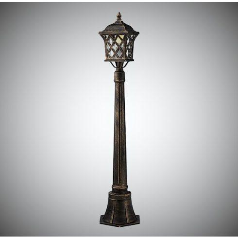 Bremen kültéri álló lámpa, barna/arany 10357
