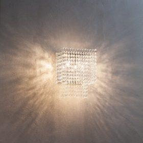 kristály fali lámpák